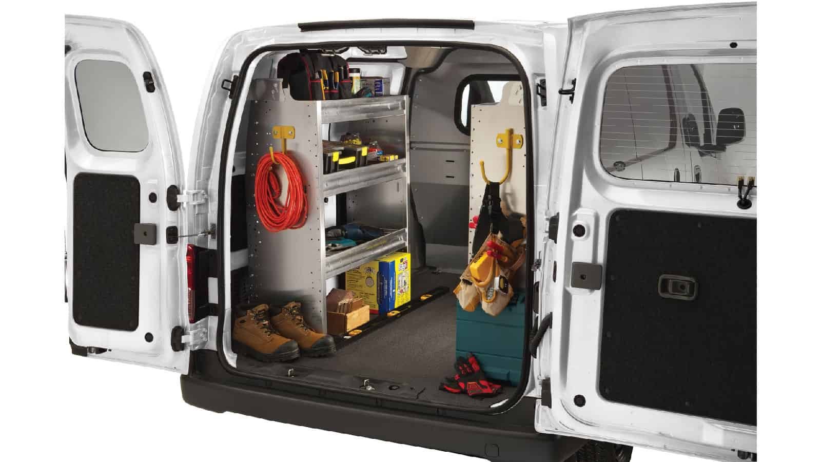 Ranger Design Custom Van Shelving Commercial Van