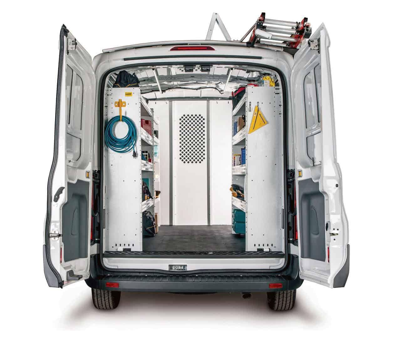 Ranger Design Custom Van Shelving Commercial Van