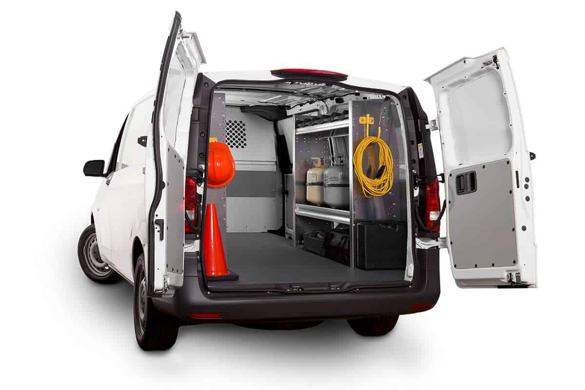 Mercedes Metris Van >> Ranger Design Custom Van Shelving | Commercial Van Solutions LLC