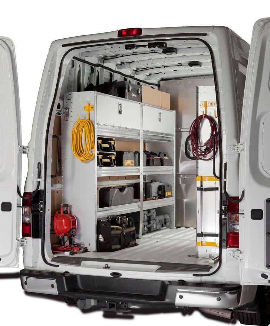 Dodge Promaster Van >> Ranger Design Custom Van Shelving | Commercial Van ...
