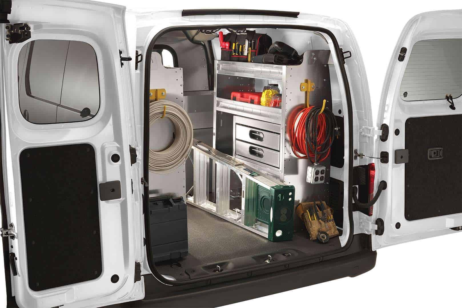 Ranger Design Custom Van Shelving | Commercial Van ...