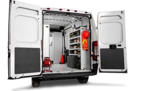 Dodge RAM ProMaster Base Contractor Package