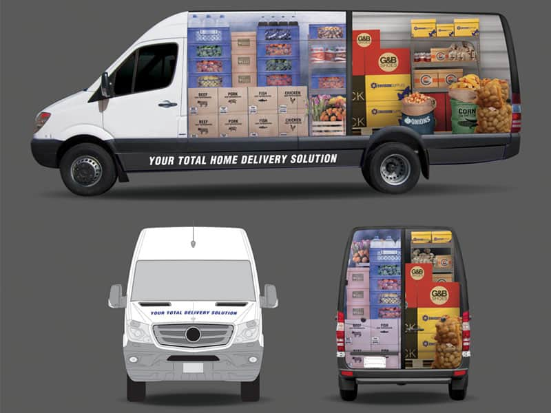 home delivery vans from Commercial Van Solutions
