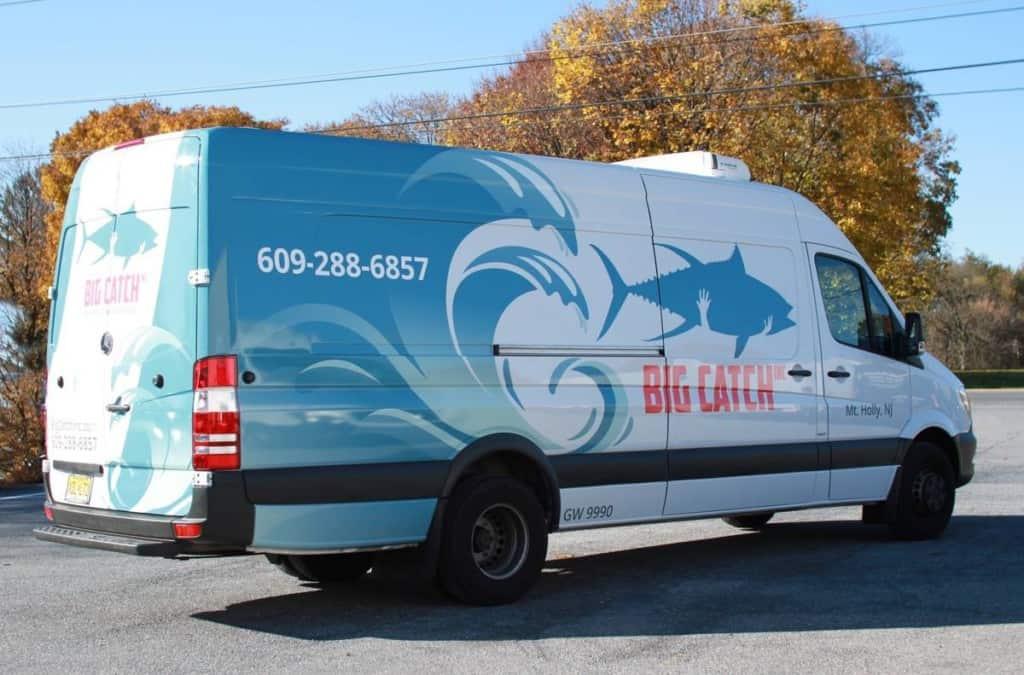 custom seafood van