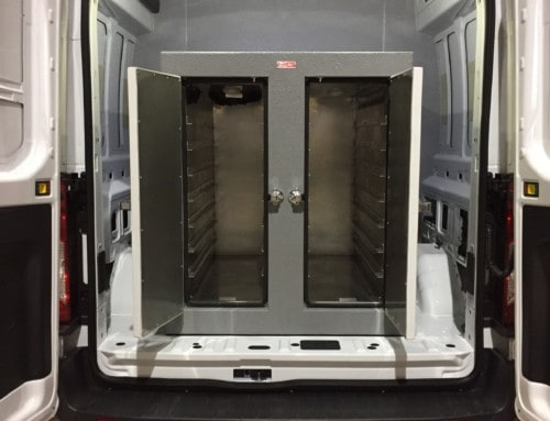 Refrigerated Van with Hotbox (Hot and Cold Van)