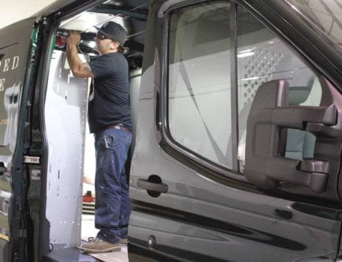 Top-Quality Custom Vans and Van Shelving