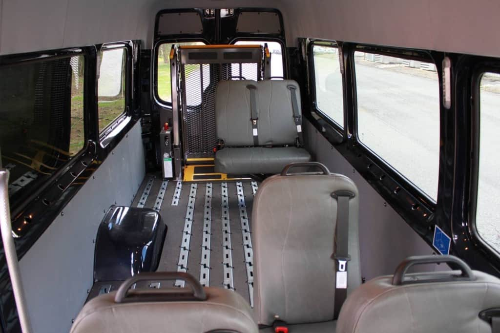 Handicapped Van Abilitrax Commercial Van Solutions Llc