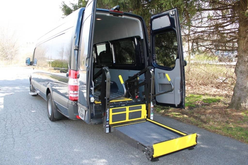 handicapped van