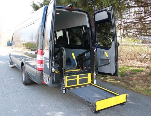 Handicapped Van (Abilitrax)