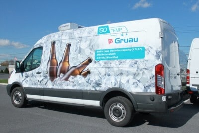 gruau refrigerated truck
