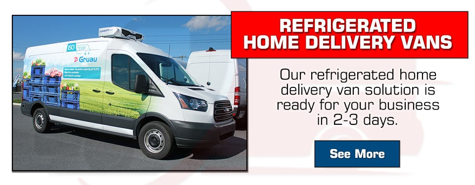 Gruau Refrigerated Home Delivery Vans