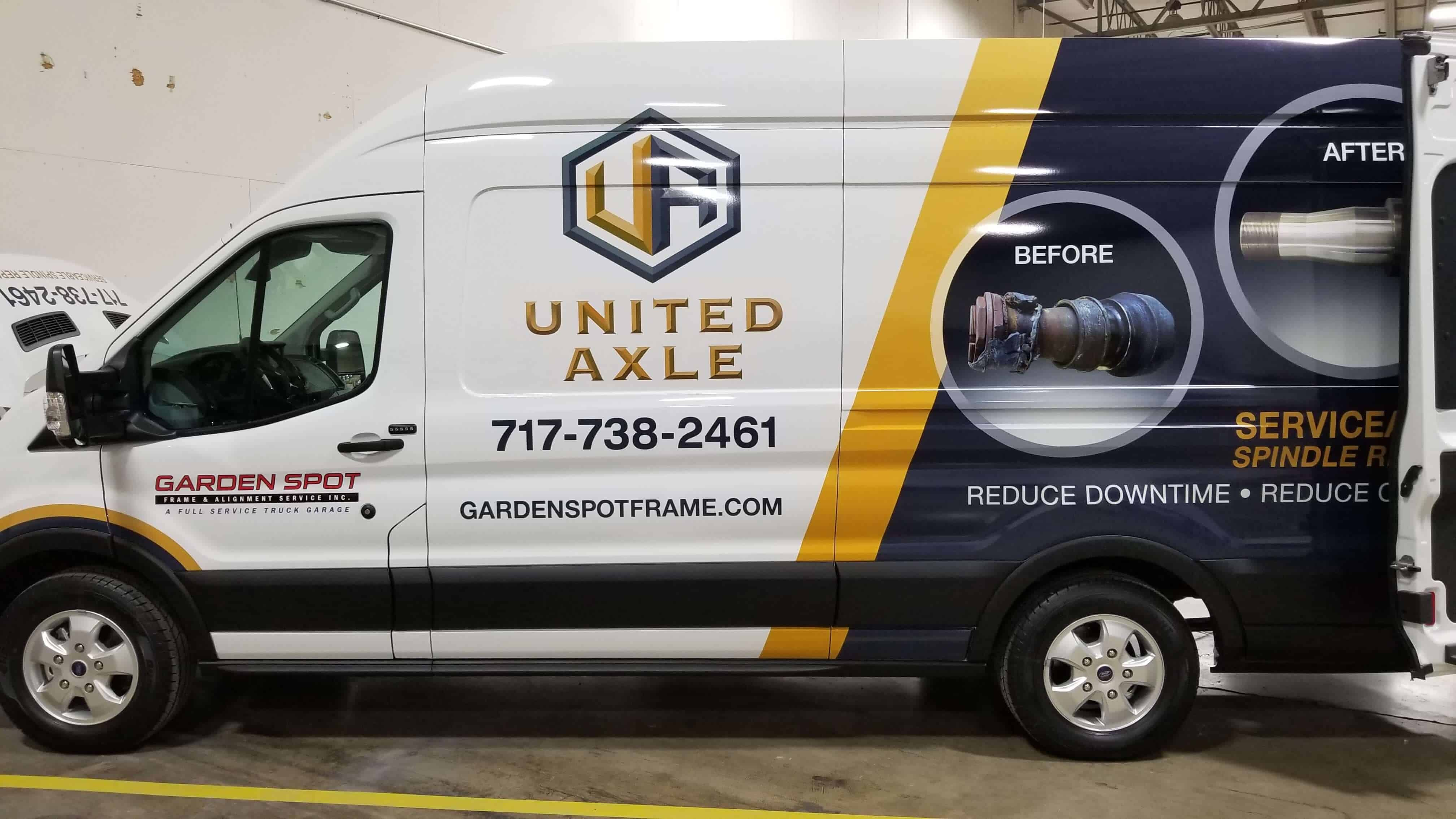 United Axle Van