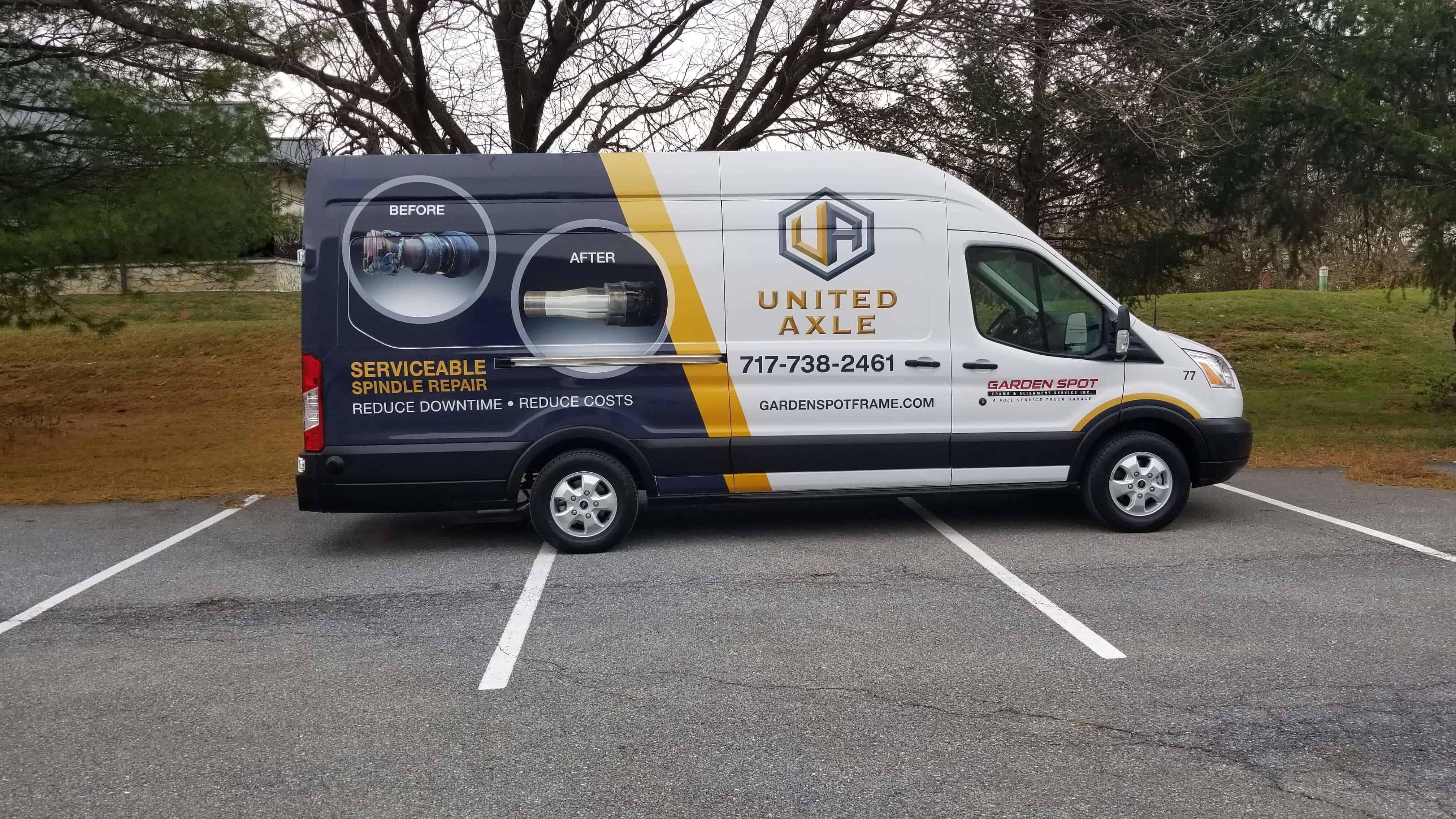Finished United Axle Van