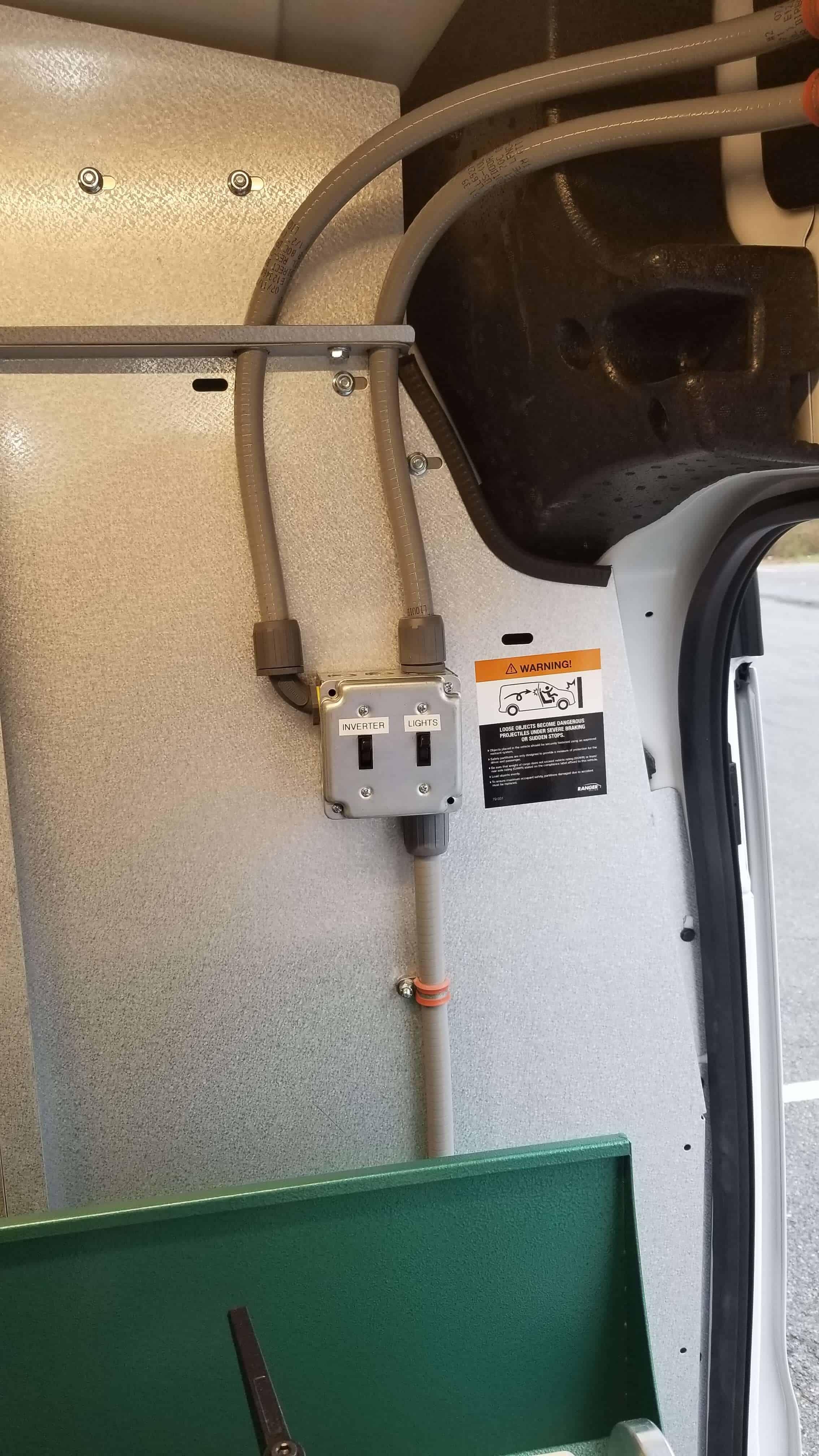 Custom Van Electrical Wiring