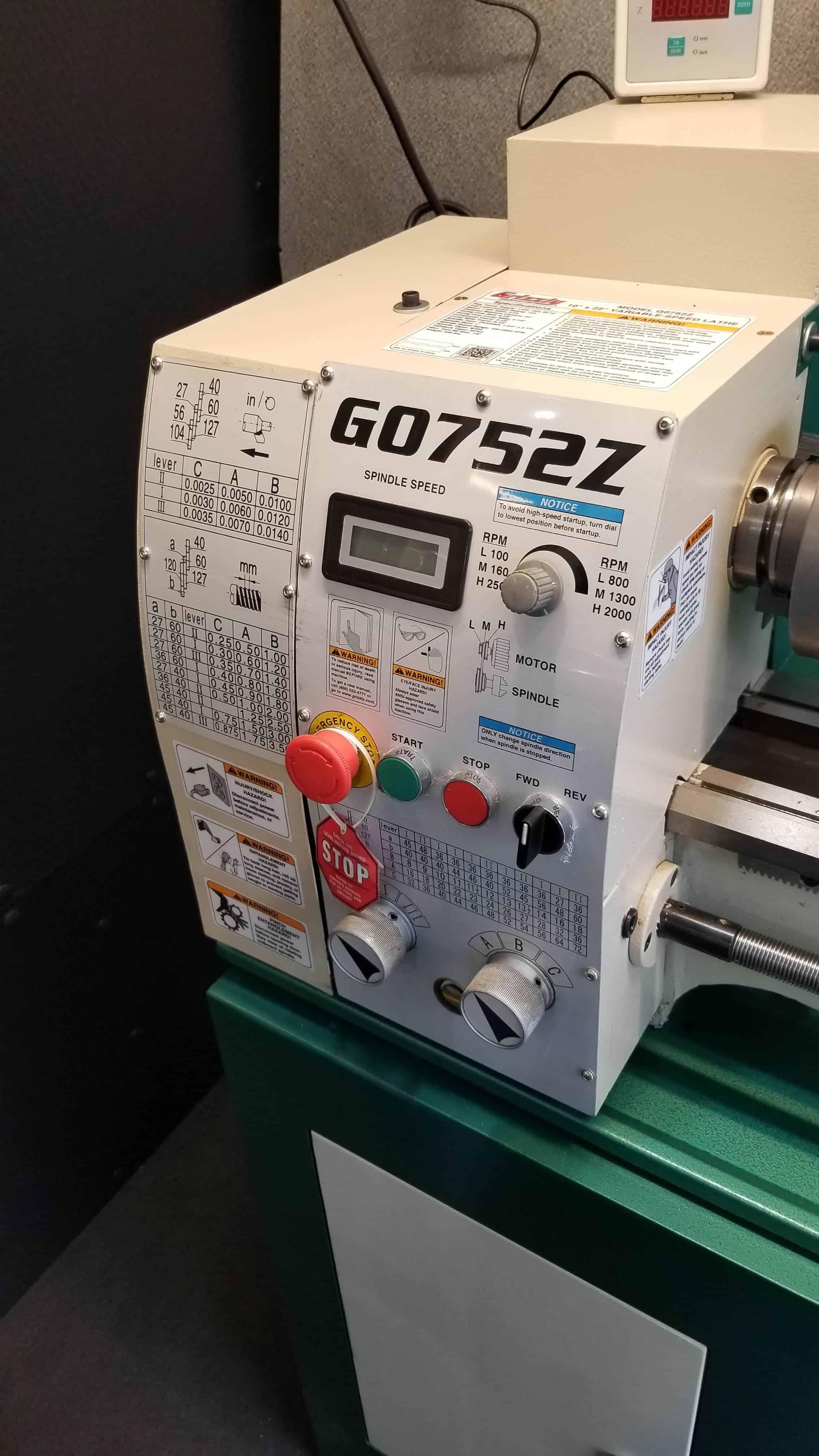 G0752Z Lathe